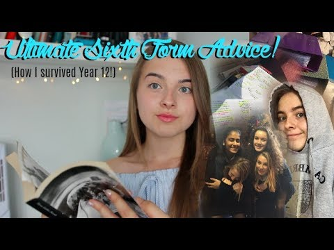Sixth Form Advice: How to Prepare, Revision and Life Hacks!
