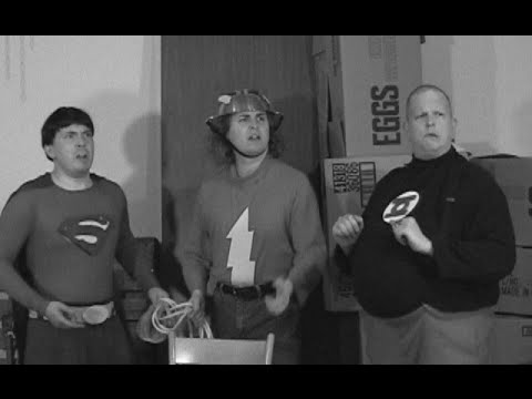 The Three Stooges in Stupor Heroes: a Justice League/Stooges Crossover Fan Film!