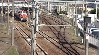 DE10乗務員訓練 琴平駅発車