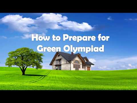 How to Prepare for Green Olympiad - YouTube