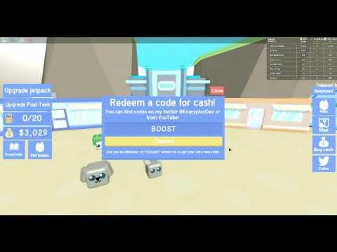 All Code Jetpack Simulator U Hafes95