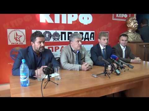 Павел Грудинин проводит встречи в Хакасии