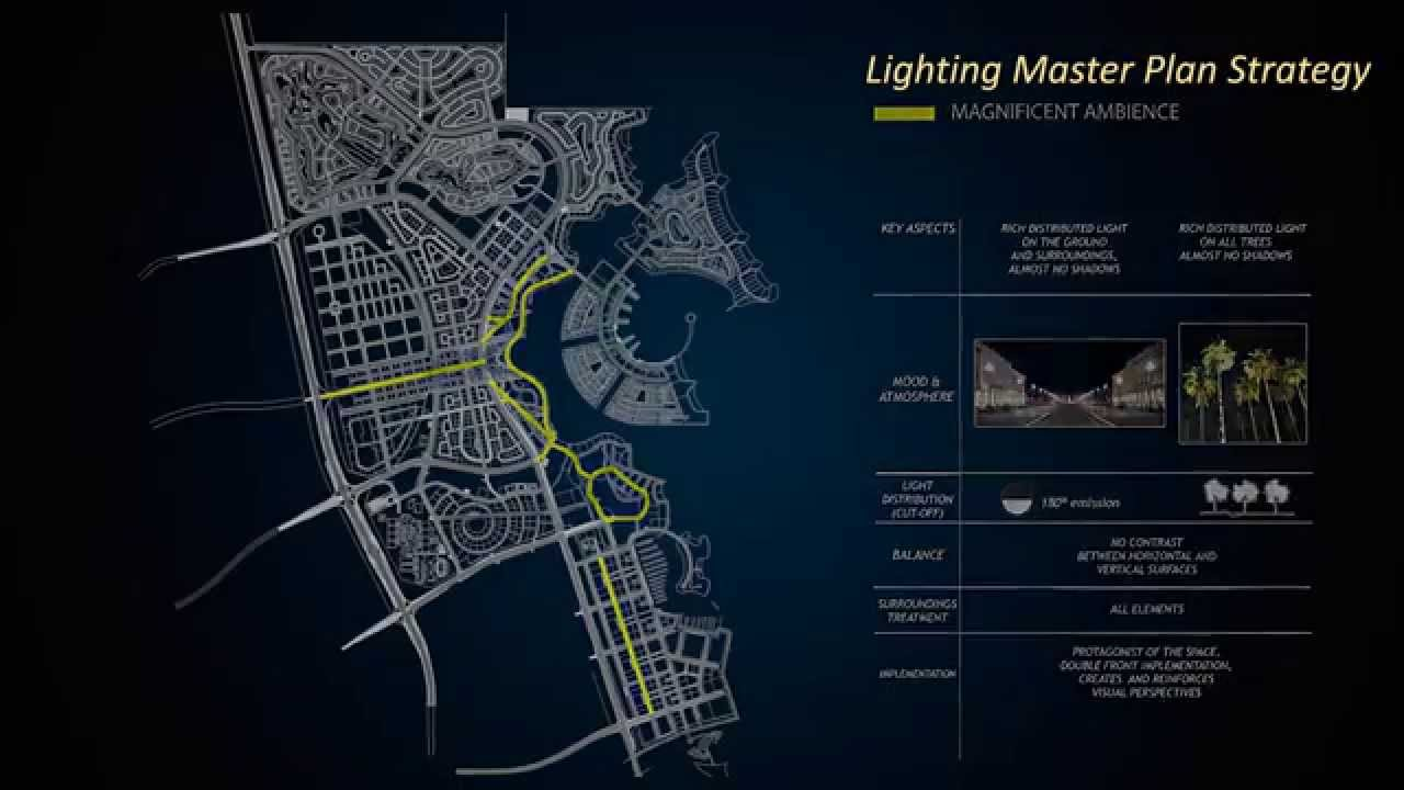Lusail Lighting Master Plan By Light Cibles