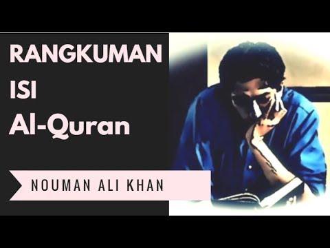 Rangkuman Al Quran Dalam 2 Kalimat - Nouman Ali Khan Indonesia