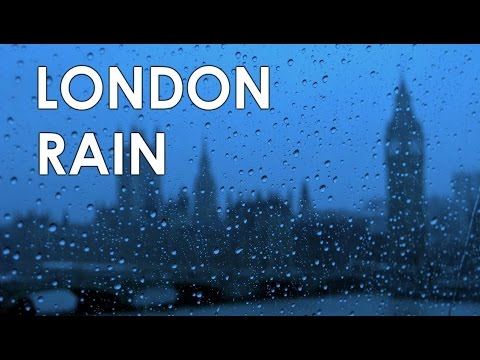 3 HOURS OF WINDY LONDON RAIN Wind and Rain Relaxation Natural Sleep Sounds - BEAUTIFUL NATURE