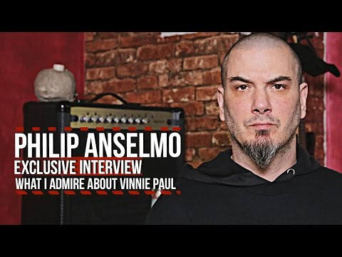 Philip Anselmo: What I Admire About Vinnie Paul