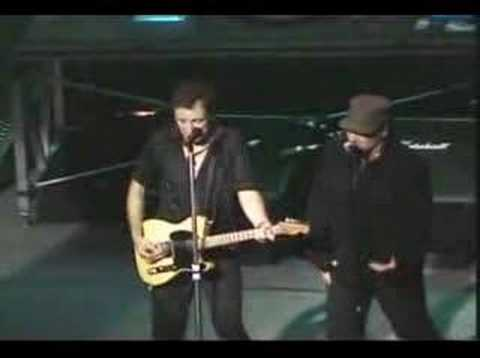 Bruce Springsteen & Bono - Because The Night (Live in Miami)