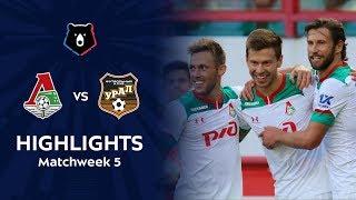 Highlights Lokomotiv vs FC Ural (4-0)