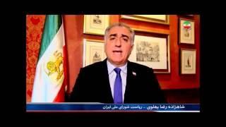 Prince Reza Pahlavi, شازده رضا پهلوي « مهدي آقازماني»؛