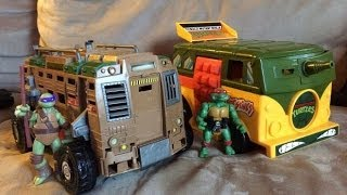 TMNT Party Wagon vs. Shellraiser