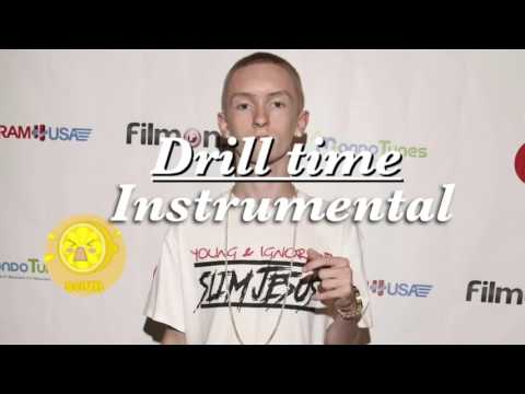 SLIM JEUSES - Drill Time (Instrumental)