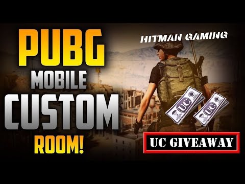 PUBG MOBILE CUSTOM ROOMS LIVE INDIA | UC GIVEAWAY | SUBSCRIBE & JOIN IN !insta