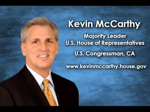 Interview with Kevin McCarthy, Majority Leader of the House of Representatives - Segment 1