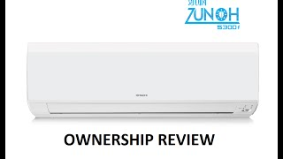 Hitachi Air Conditioner AC Auto Clean, iSense Ownership Review|Features BY Indranil Chakraborty