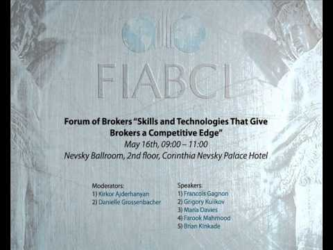 63 FIABCI World Congress: Forum of Brokers