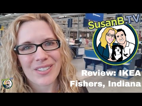 SusanB.TV Reviews The IKEA Store In Fishers, Indiana