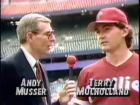 April 1991 - Phillies vs Mets   (partial game) @mrodsports