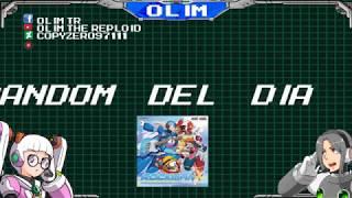 Jugando Megaman X3 y X2 Prototype en Vivo