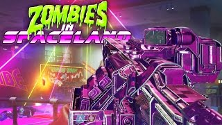 INFINITE WARFARE ZOMBIES - MAIN EASTER EGG GAMEPLAY HUNT! (ZOMBIES IN SPACELAND)