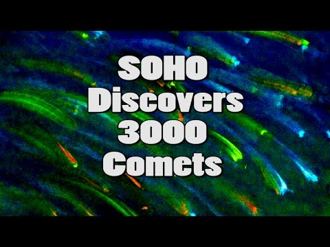 3000 Comets discovered by NASA