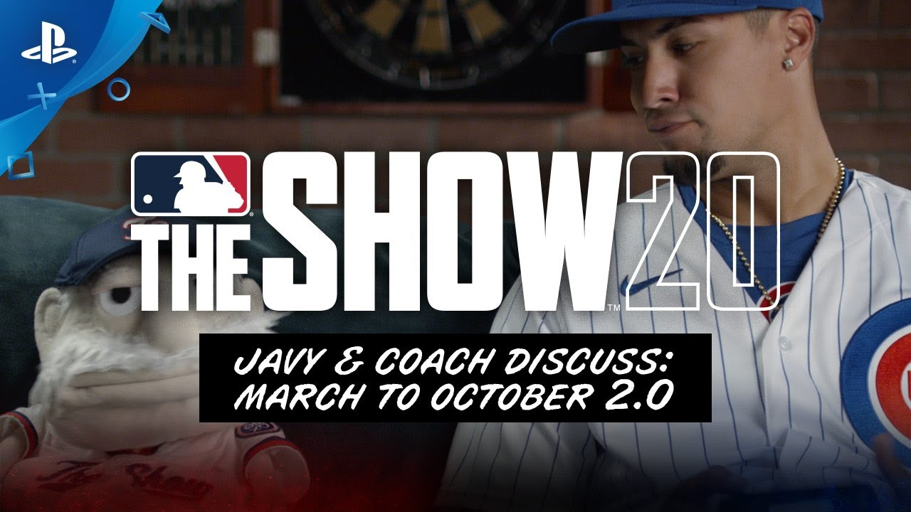 Assistir - MLB The Show 20 - March to October | PS4 - online