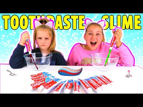 Don't Choose the Wrong Toothpaste Slime Challenge!!! *NEW COLORS*