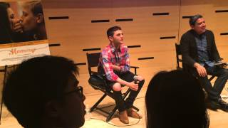 Xavier Dolan at Film Society of Lincoln Center