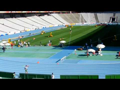 World Juniors Decathlon Final Throw 69.61m CR