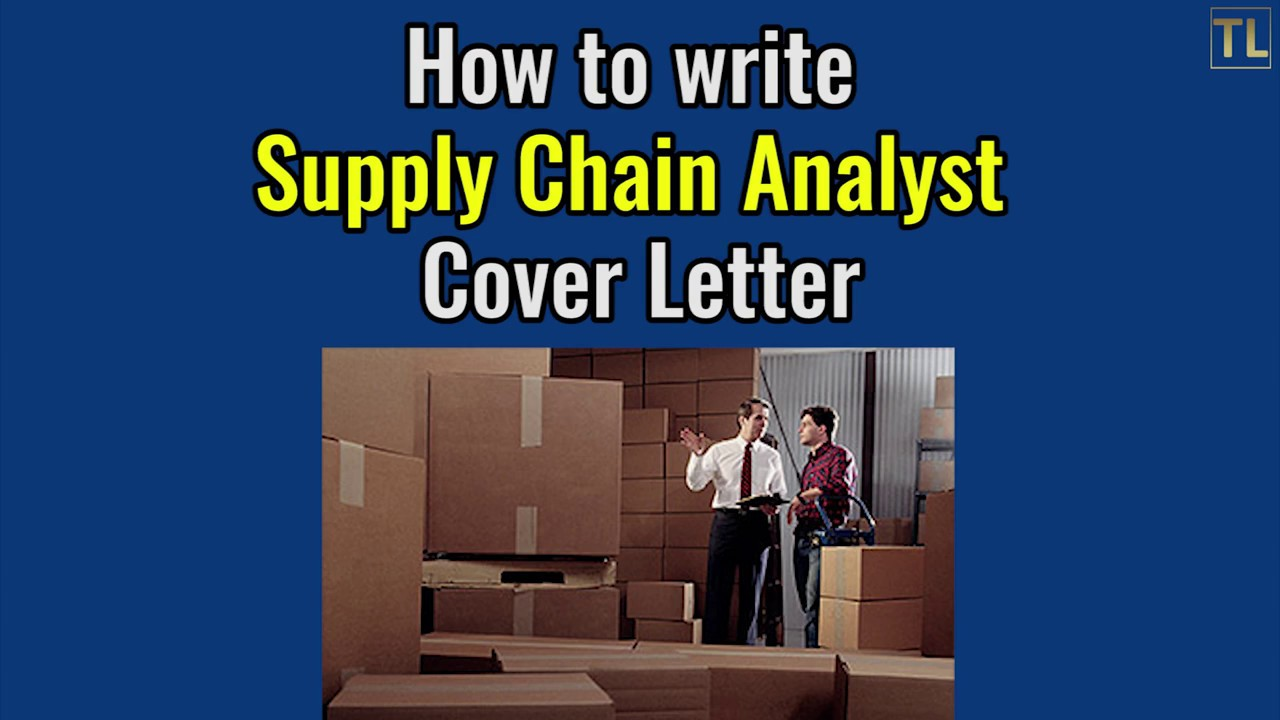Superb How To Write Supply Chain Analyst Cover Letter   Sample 2017