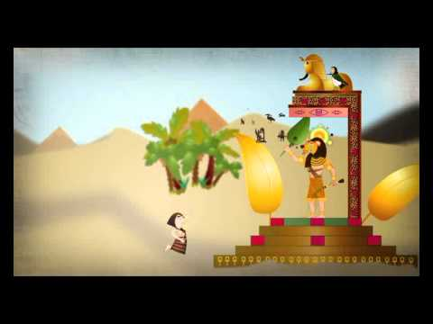 Egyptische Magie - Animatie