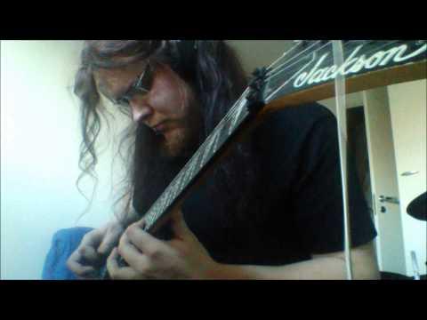 Mastodon - Crystal skull - guitar cover by Nikke Kuki