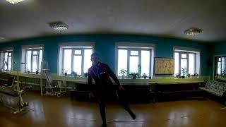 Лыжный КОНЬКОВЫЙ ХОД  УРОК №2