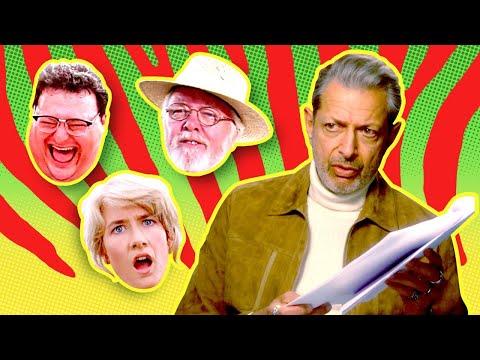 Jeff Goldblum Plays Every Role in Jurassic Park