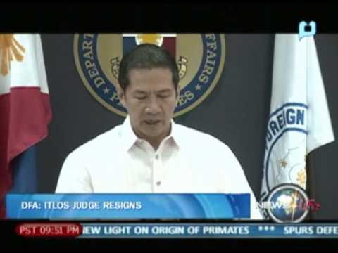[NewsLife] - DFA: ITLOS judge resigns