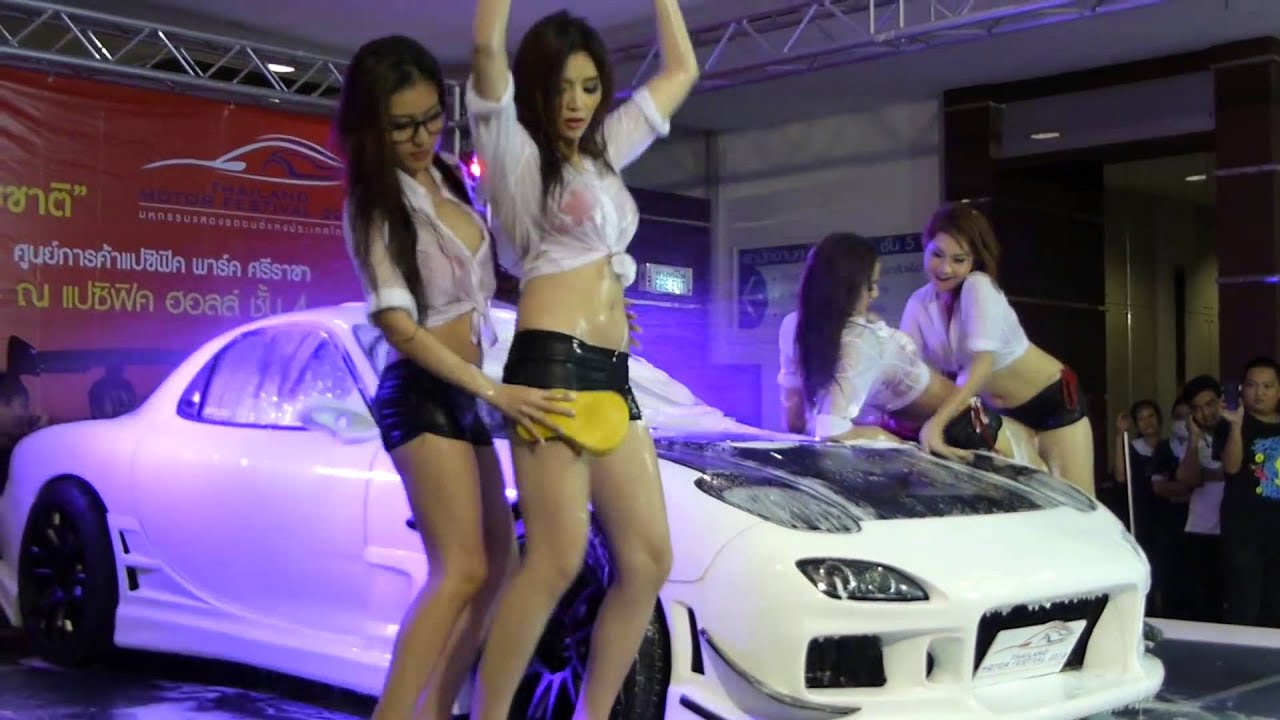 Car Wash In Bangkok
