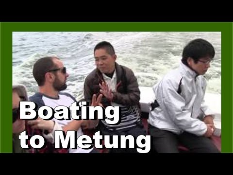 Boating To Metung, Gippsland Lakes, Victoria, Australia