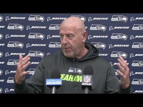 Seahawks Offensive Line Coach Tom Cable Week 14 Press Conference