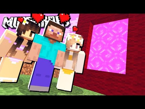 If There was a GIRLFRIEND DIMENSION in Minecraft!