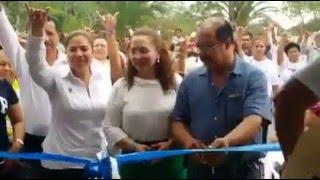 Habiel Medina inicia campaña inaugurando comité en Soto la Marina