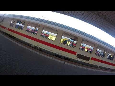 Abfahrt Intercity nach Baden Baden im Bahnhof Basel Badischer Bahnhof