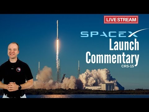 SpaceX Falcon 9 Launch for CRS-15 🔴 Live Launch Commentary