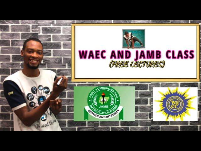 Free Waec And Jamb Video Tutorials For All Topics (Questions Solved)