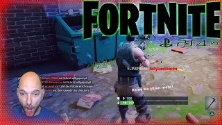 FORTNITE PS4 So sehen Anfänger aus Let´s Play Fortnite BATTLE ROYALE Deutsch