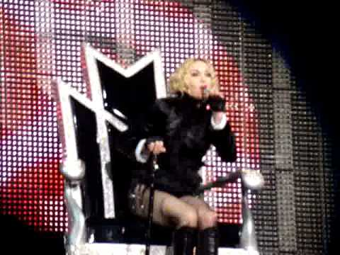 Madonna in Vancouver 2008 - Craziest concert opener ever!!!