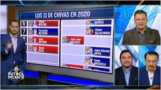El 11 ideal de las Chivas de Guadalajara para el Clausura 2020 según los expertos | Futbol Picante