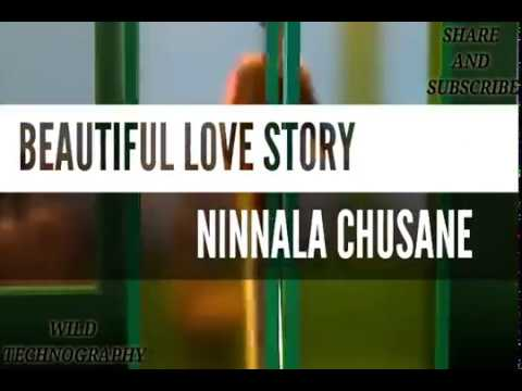 NINNALA CHUSANE | TOLI PREMA | ANIMATED BEAUTIFUL LOVE STORY