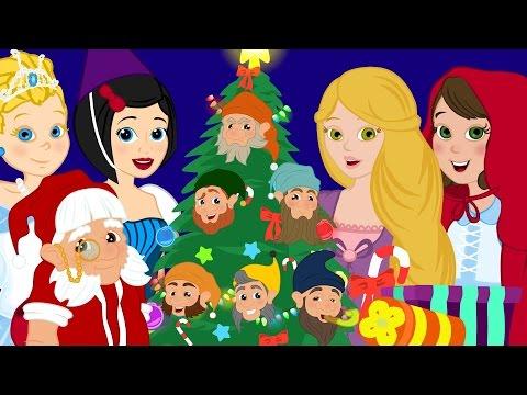 Vive Le Vent-  Chanson de Noel  avec Cendrillon-Raiponce-Le petit Chaperon Rouge-les P'tits z'amis