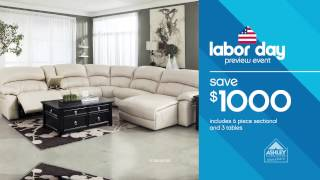 Ashley Furniture Homestore - Labor Day Preview Event