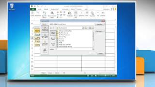 How to create a Hyperlink in Microsoft® Excel