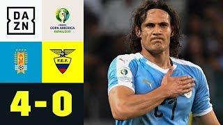 Edinson Cavani trifft artistisch: Uruguay - Ecuador 4:0 | Copa America | Highlights | DAZN